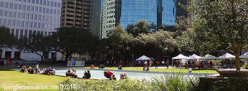 Rodeo Roundup 2013. Houston City Hall. Stylized.