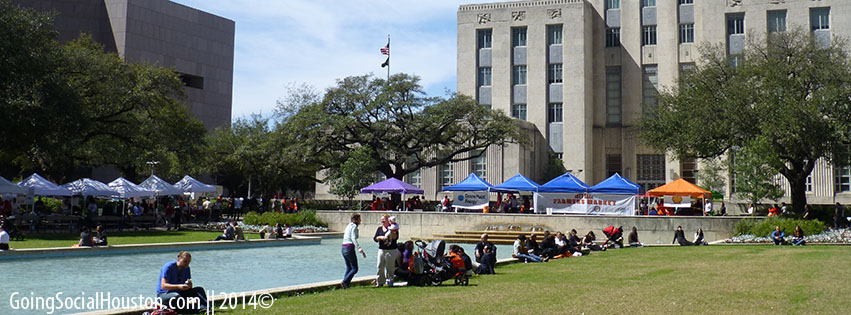 Rodeo Roundup 2013. Houston City Hall. Stylized.